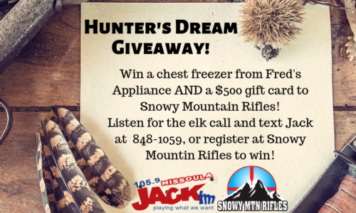 Win the ultimate hunting package!