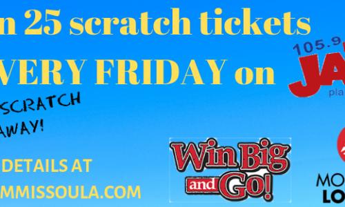 Win BIG & GO with Jack FM 105.9 Missoula