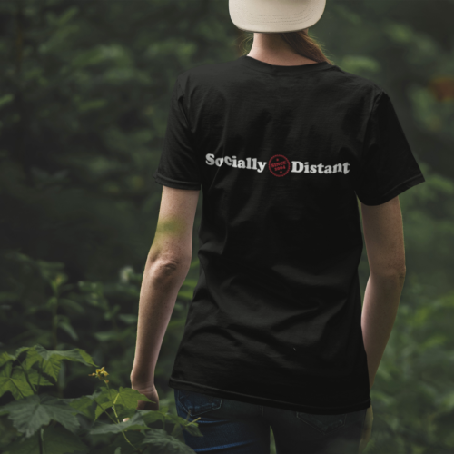 Socially Distant t-shirt sale to benefit Feeding America!